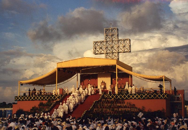 catedral de merida visita juan pablo II